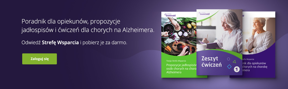 Strefa wsparcia - choroba alzheimera